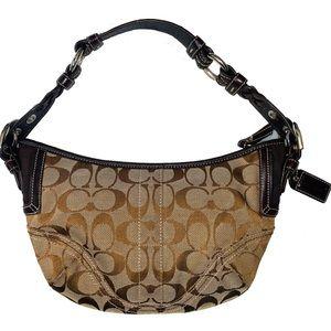 Authentic Coach Hobo Mini Bag